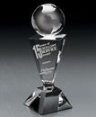 Custom Intrigue Crystal Award