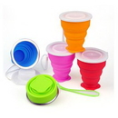 Custom Silicone Collapsible Cup, 2 4/5