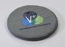 Custom Round Shale-Texture Coaster (UV Print), 4