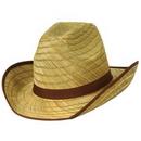 Custom Genuine Cowboy Hat w/ Brown Trim & Band