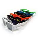 Custom Ray Cali Color Plastic Sunglasses - Mirror Lens - Assorted