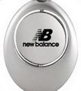 Custom Swivel Flat Design Sports Keychain, 1 3/8