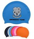 Custom Silicone Swimming Cap, 8 13/16