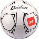 Custom Baden Full Size Autograph Soccer Ball