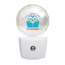 Custom Circle LED Night Light, Full Color Digital, 2 3/4