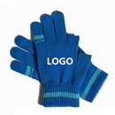 Custom Touch Screen Thin Knit Gloves, 8 1/4