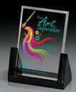 Custom Medium Rectangular Glass Award
