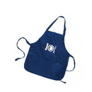 Custom Medium Length Color Apron, 22