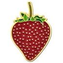 Blank Strawberry Pin, 3/4