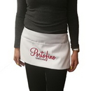 Custom White 3 pockets polyester waist apron