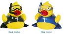 Custom Rubber Snorkeling Flipper Duck, 3 3/8