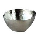 Custom Elegance Stainless Steel Collection Hammered Square Bowl (10