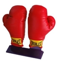 Custom Display Stand for 2 Boxing Gloves, 5