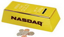 Custom Gold Bar Coin Bank