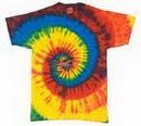 Custom Rasta Tye Dye Shirt