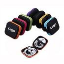 Custom Square Ear Buds Case Storage Pouch Earphone Box Headset Bag, 3