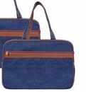 Custom Denim Tote Bag