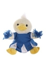 Custom Soft Plush Duck With Cheerleader Outfit 8