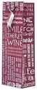 Custom The Everyday Wine Bottle Gift Bag Collection (Wine Expressions), 4 7/8