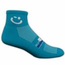 Custom Colored High Performance Quarter Moisture Wicking Sock