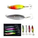 Custom Shiny Metal Textured Fishing Lure with Hook (5 Cm Long), 2