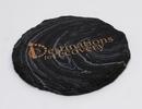Custom Round Slate-Texture Coaster (UV Print), 4