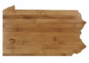 Custom Pennsylvania State Serving And Cutting Board, 16