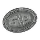 Custom Championship Size Solid Zinc Alloy 3 3/8