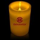 Custom Light Up Pillar LED Candles