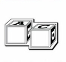 Custom Blocks Notekeeper Magnet- 35 Mil Process Color (1-1/2