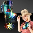 Custom 16 Oz. Light-Up Cowboy Boot Cup