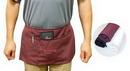 Custom Maroon 3 pockets polyester waist apron
