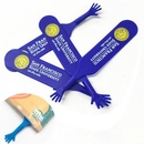 Custom Silicone Hand-Shaped Bookmarks, 6 1/3