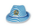 Oktoberfest Alpine Hat w/ Custom Shaped Heat Transfer