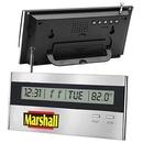 Custom Executive Desktop Alarm Clock Radio, 6 1/4