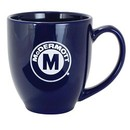 Custom 16 Oz. Solid Cobalt Blue Bistro Mug, 5.25