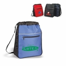 Custom Sports Pack, Expandable Drawstring Backpack, 13