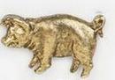 Custom Pig Stock Cast Pin