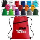 Custom Earbud Port Non Woven Drawstring Backpack, 13.00
