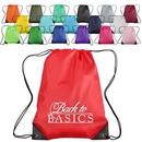 Polyester Custom Drawstring Bag (17