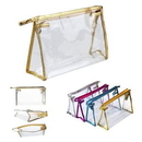 Custom Clear Travel Waterproof PVC Cosmetic Bag, 9