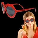 Custom Red Lip Sunglasses