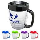 Custom Clear Acryline Mug, 5