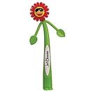 Custom Flower Bend-A-Pen (Spot Printed)