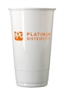 Custom 20 Oz. Economy Plastic Cups - High Lines