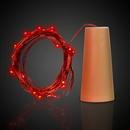 Custom Red LED Cork String Light Set