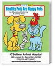 Custom Healthy Pets are Happy Pets Coloring Book, 8