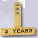 Custom Stock Rectangle Year Tabs - 50 Year