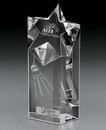 Custom Nebula Rising Crystal Award (4