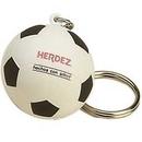 Custom Soccer Ball Stress Reliever Keytag